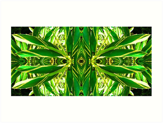 Ginger Goddess - Abstract Art By Sharon Cummings by Sharon Cummings