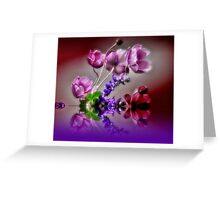 Dainty Flowers Greeting Card