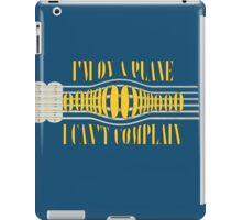 Nirvana ~ On A Plane Lyrics Guitar Design iPad Case/Skin