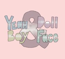 Yeah Boy & Doll Face  Kids Tee