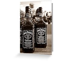 Two Bottles of Whiskey...  Greeting Card