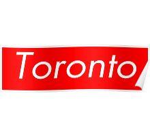 Toronto Supreme Box Logo Poster