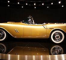 1954 Oldsmobile F-88 Concept Car by AphroPanda