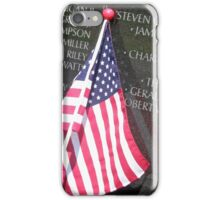 Flag For Fallen Soldier iPhone Case/Skin