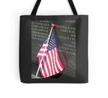 Flag For Fallen Soldier Tote Bag
