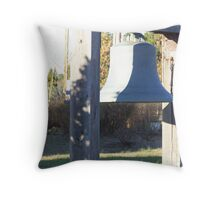 Bell from the Bell Tower Throw Pillow