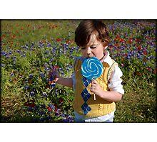 Lollipop.... Photographic Print