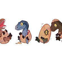 Raptor posse by aninhat-t