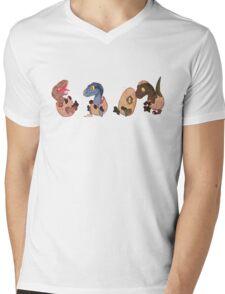 Raptor posse Mens V-Neck T-Shirt