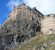 Edinburgh Castle by Yonmei