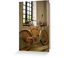 Artistic Transportation Greeting Card
