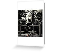 Pleasure In A Jaunt Greeting Card