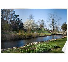 Glorious New England Spring Day Poster