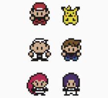 Pokemon - pixel art Kids Clothes
