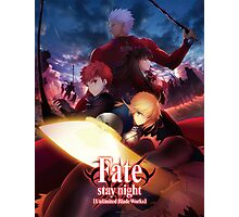 fate stay night unlimited blade works Photographic Print