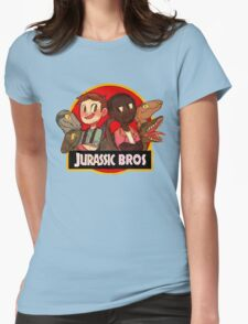 Jurassic Bros Womens Fitted T-Shirt