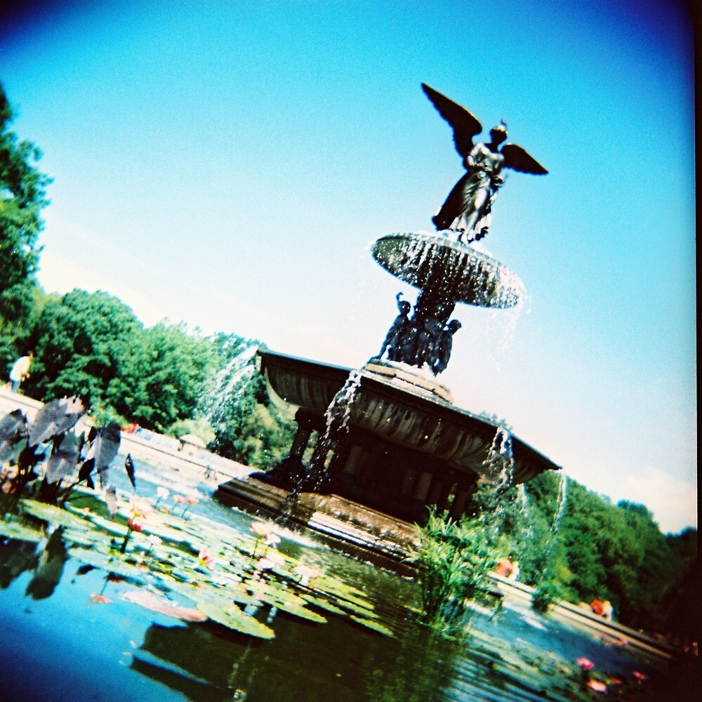 Bethesda Angel, Central Park by Glen Barton