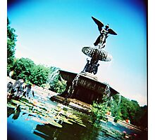 Bethesda Angel, Central Park Photographic Print