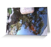 Two Worlds Same Planet Greeting Card