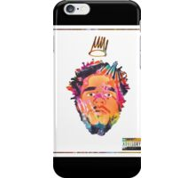 J.Cole - Born Sinner (Tye Dye) iPhone Case/Skin