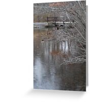 Hiding in the brush - Bethpage Park Greeting Card