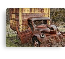 Olympic Delivery Truck Canvas Print