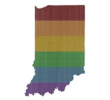 Indiana Rainbow Gay Pride by surgedesigns