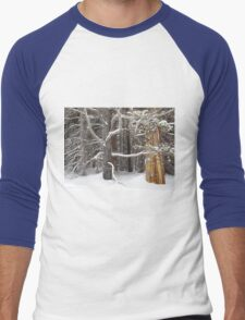 Tree Talk Men's Baseball ¾ T-Shirt