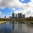 Melbourne & the Yarra by Fiona Kersey