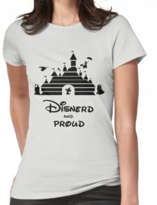 Disnerd and Proud Womens Fitted T-Shirt