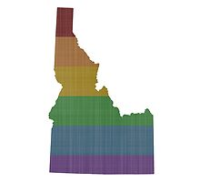 Idaho Rainbow Gay Pride by surgedesigns