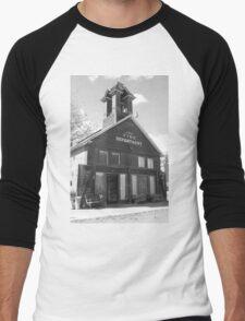 The Old Ridgway Firehouse Men's Baseball ¾ T-Shirt