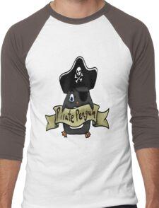 Pirate penguin Men's Baseball ¾ T-Shirt
