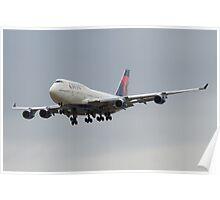 Delta 747 Poster
