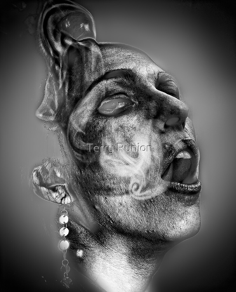 Woman in Smoke by Terry Runion