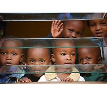 African children in school Photographic Print