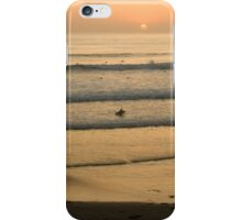 Crowded Californian Surfing Sunset - Pacific Beach, San Diego iPhone Case/Skin