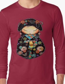 Little Multicolour Teapot Long Sleeve T-Shirt