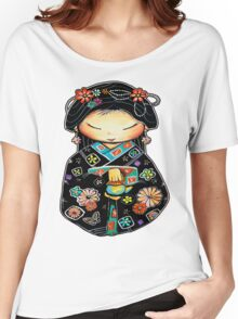 Little Multicolour Teapot Women's Relaxed Fit T-Shirt