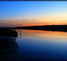 Cuckmere Haven at Dusk by vistavie79
