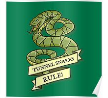Tunnel Snakes Rule! Poster