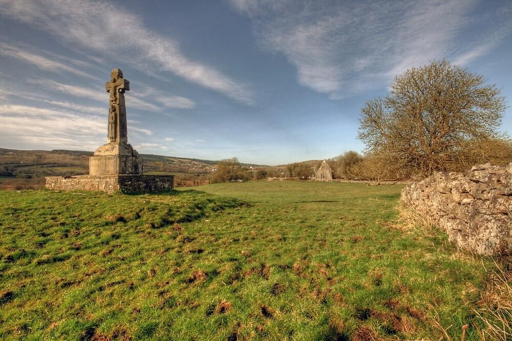 Dysert O Dea Celtic Cross by John Quinn