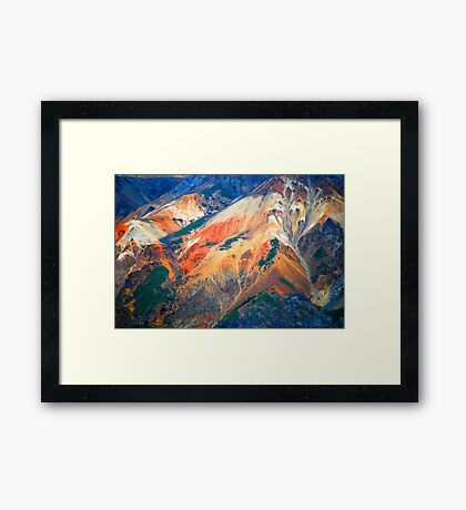 Messing with Nature - Alaska Framed Print
