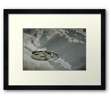 Air Force Love Framed Print