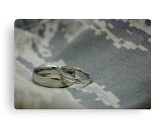 Air Force Love Canvas Print