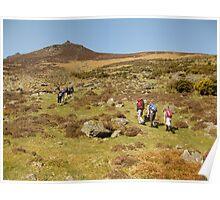 Comeragh mountains Poster