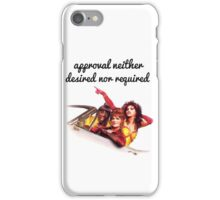 Approval not required iPhone Case/Skin