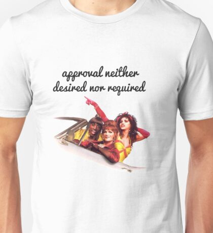 Approval not required Unisex T-Shirt