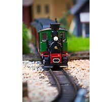 Toy Train II ~ Minatures Series Photographic Print