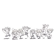 Dancey Dance Photographic Print